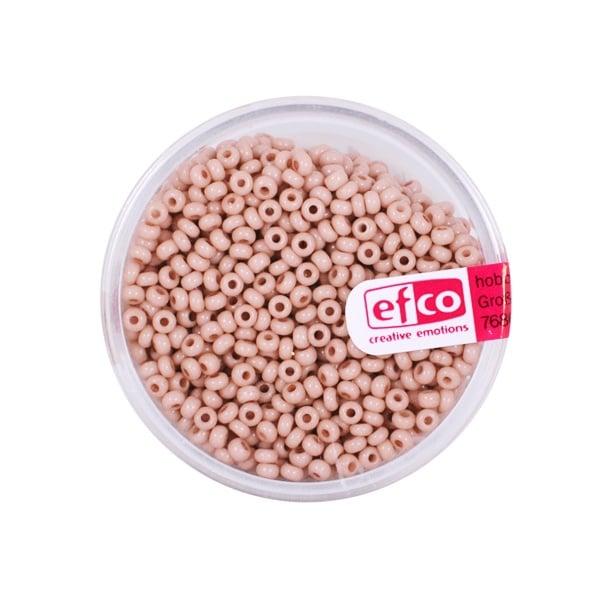 Индиански перли, непрозрачни, ф 2,6 mm, ~1100 бр. Индиански перли, непрозрачни, ф 2,6 mm, ~1100 бр., телесен цвят