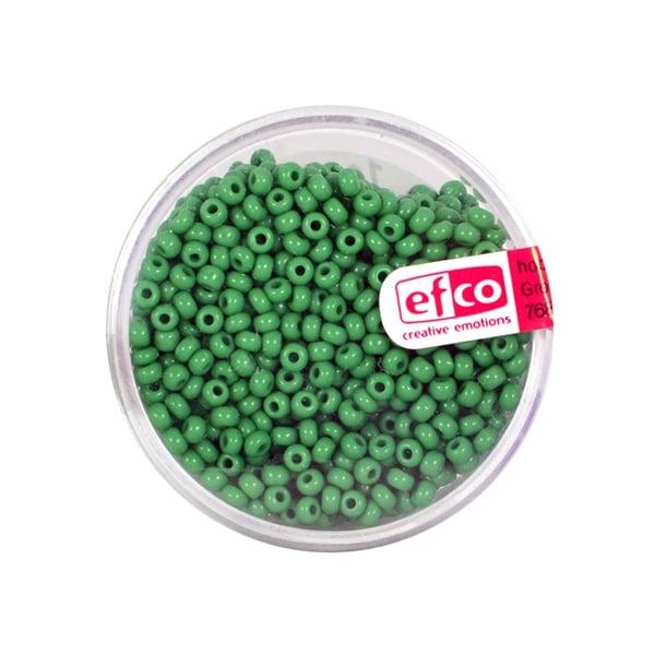 Индиански перли, непрозрачни, ф 2,6 mm, ~1100 бр. Индиански перли, непрозрачни, ф 2,6 mm, ~1100 бр., зелени