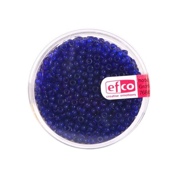Индиански перли, непрозрачни, ф 2,6 mm, ~1100 бр. Индиански перли, прозрачни, ф 2,6 mm, ~1100 бр., кралскосини