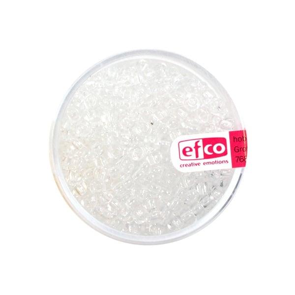 Индиански перли, непрозрачни, ф 2,6 mm, ~1100 бр. Индиански перли, прозрачни, ф 2,6 mm, ~1100 бр., прозрачни