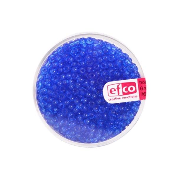 Индиански перли, непрозрачни, ф 2,6 mm, ~1100 бр. Индиански перли, прозрачни, ф 2,6 mm, ~1100 бр., сини