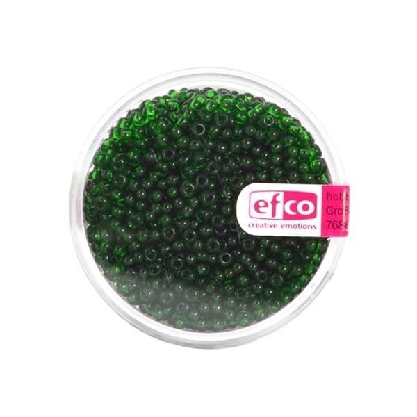 Индиански перли, непрозрачни, ф 2,6 mm, ~1100 бр. Индиански перли, прозрачни, ф 2,6 mm, ~1100 бр., зелени