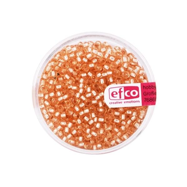 Индиански перли, сребриста нишка, ф 2,6 mm, ~1100 бр. Индиански перли, сребриста нишка, ф 2,6 mm, ~1100 бр., медни