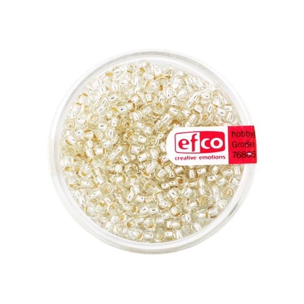 Индиански перли, сребриста нишка, ф 2,6 mm, ~1100 бр. Индиански перли, сребриста нишка, ф 2,6 mm, ~1100 бр., сребристи