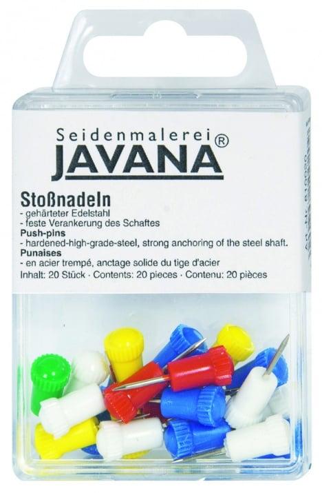 Кабъри с PVC главичка  JAVANA Кабъри с PVC цилиндрична главичка JAVANA, 20 броя