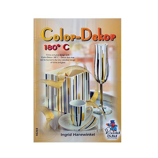 Книга с идеи Color Decor 180 'C, A5, 32 стр. на английски език