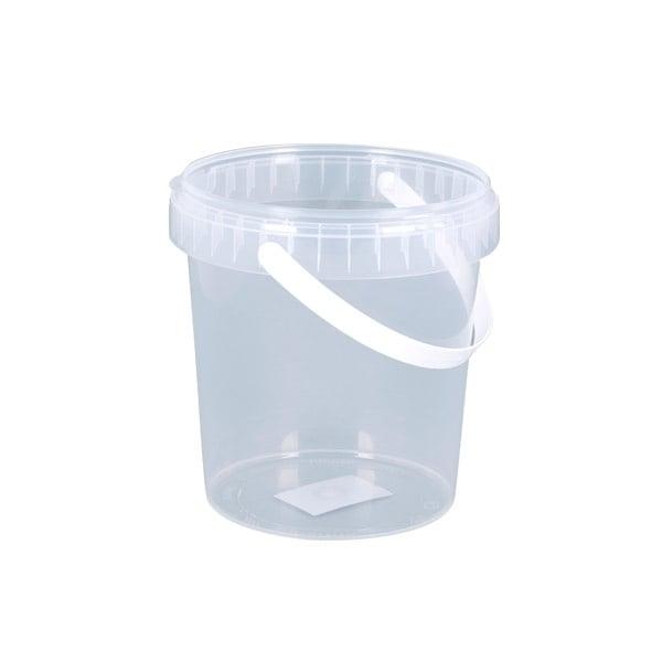 Кофичка за миене на четки CREALL Mini, прозрачна