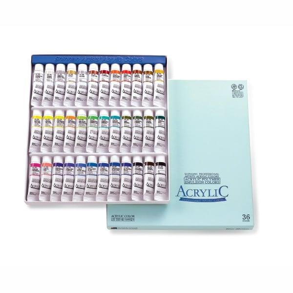 Комплект акрилни бои ARTISTS' ACRYLIC Комплект акрилни бои ARTISTS' ACRYLIC, 20 ml, 36 цв.