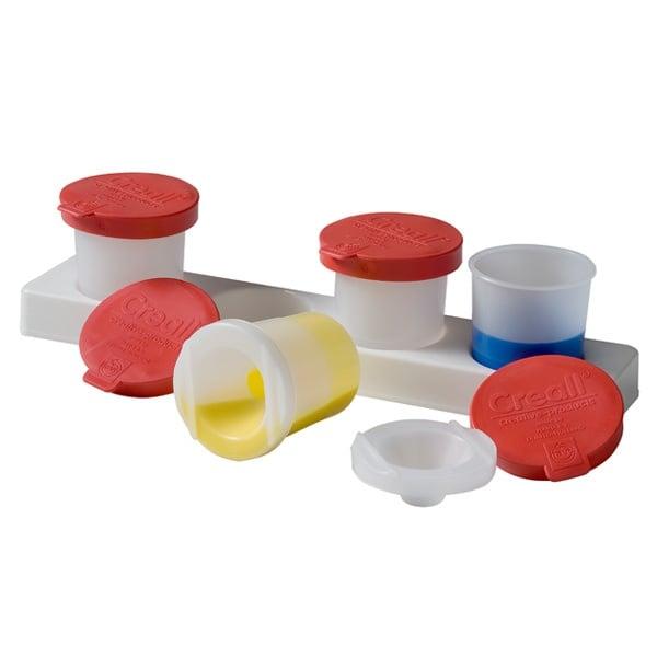 Комплект чашки за бои осигурени против разливане CREALL, 4 х 320ml