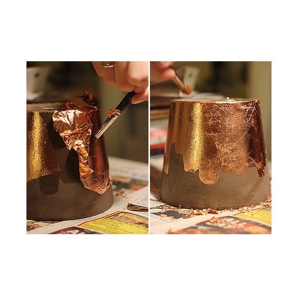 Комплект четки ART Deco, за позлатяване, 2 части