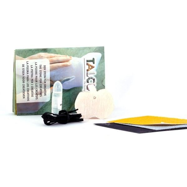 Комплект за изработка на амулет от сапунен камък