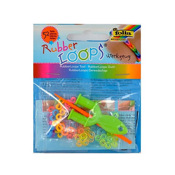 Комплект за плетене Rubber Loops на ластични гривни