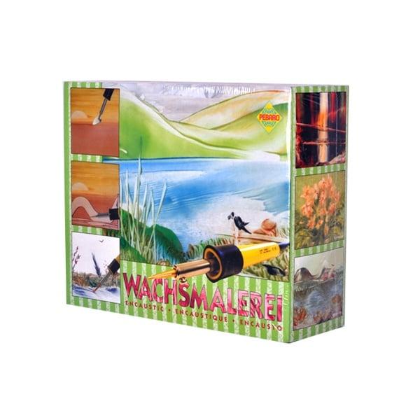 Комплект за рисуване Encaustik в картонена кутия, 60 части