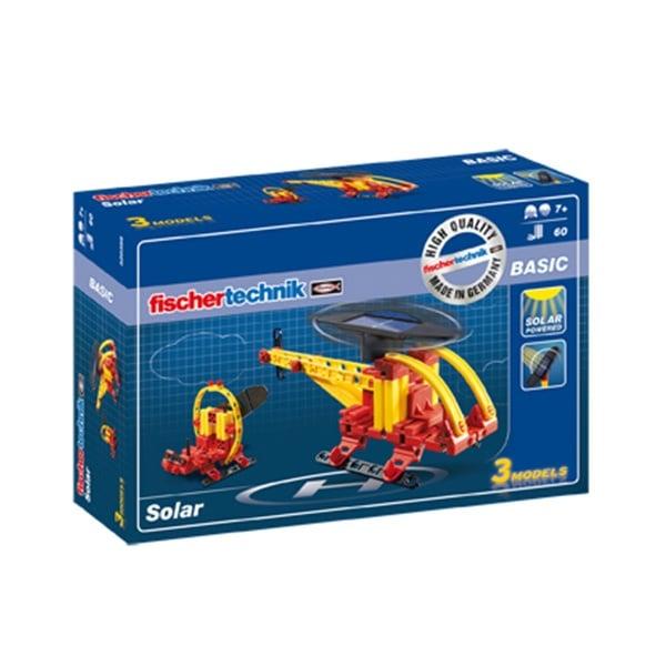 Алуминиево фолио, 20 х 30 см / 0,15 мм, 3 бр., двуцветно - червено и сребристо Конструктор FischerTechnik, Хеликоптер със соларно захранване , деца от 7 г.