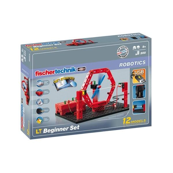 Конструктор FischerTechnik, ROBO LT Beginner Set 8+,  за деца над 8 г.