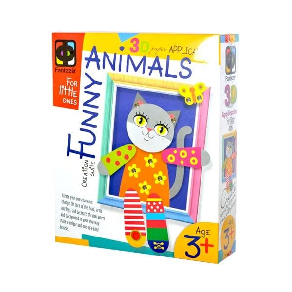 Креативен к-т апликация с рамка №3 Kitty
