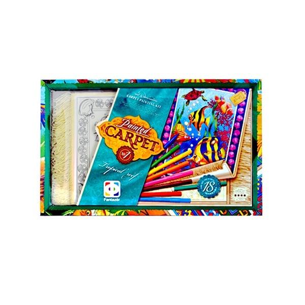 Креативен комплект Carpet 's painting Креативен к-т Carpet 's painting «Tropical reef»