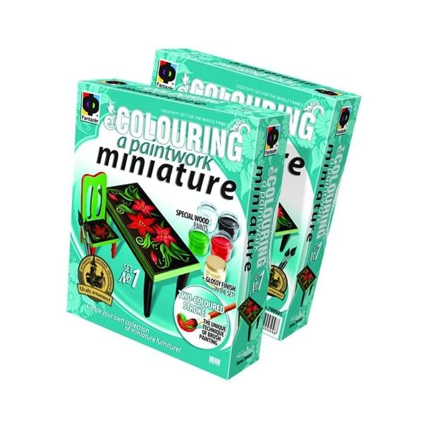 Креативен к-т Paintwork miniature «Rectangular table»