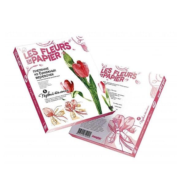 Креативен комплект Les fleurs en papier «First Tulip»