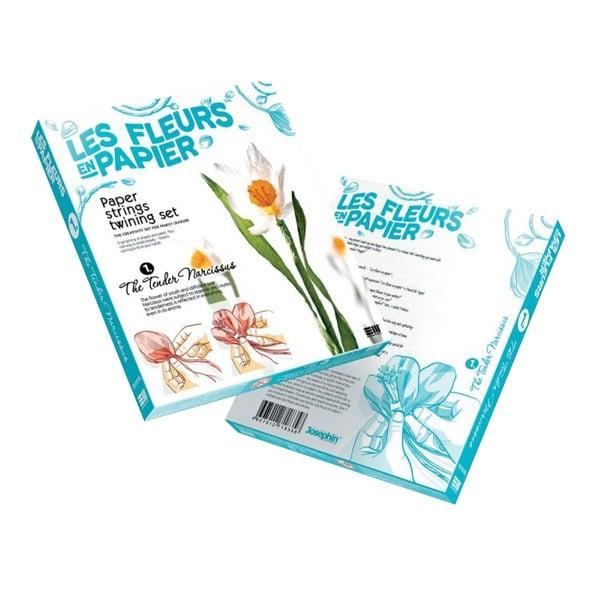 Креативен комплект Les fleurs en papier «Tender Narcissus»