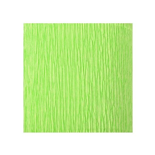 Креп-хартия усилена, 130 g/m2, 50 x 250 cm, 1 ролка, светло зелена