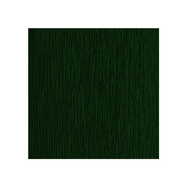 Креп-хартия усилена, 130 g/m2, 50 x 250 cm, 1 ролка,  тъмно зелена
