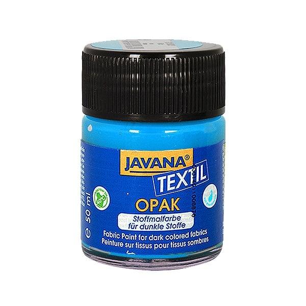 Текстилна боя, Opak JAVANA, 50 ml /за светла  и тъмна основа/ Текстилна боя OPAK JAVANA, 50 ml, светло син
