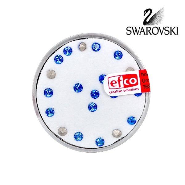Кристали Swarovski Chatons, ф 3 mm, 20 бр. Кристали Swarovski Chatons, ф 3 mm, 20 бр., сапфир