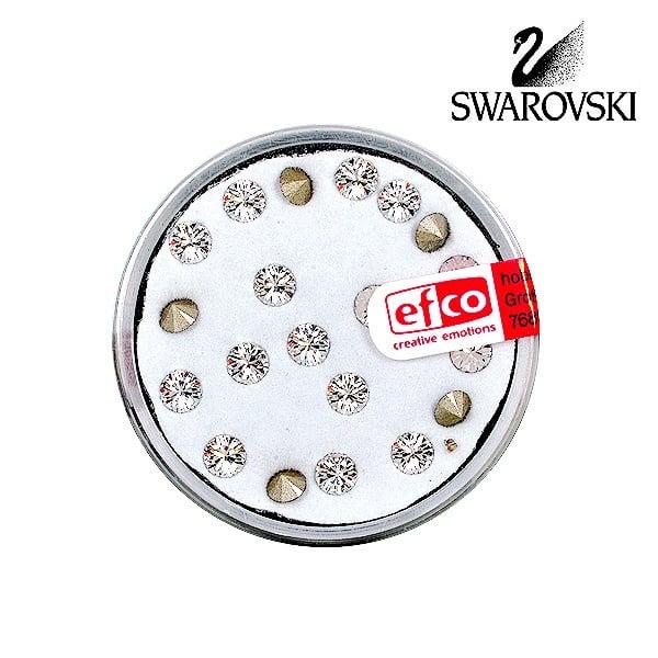 Кристали Swarovski Chatons, ф 4 mm, 20 бр. Кристали Swarovski Chatons, ф 4 mm, 20 бр., кристал