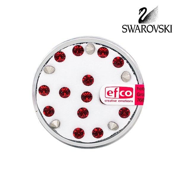 Кристали Swarovski Chatons, ф 4 mm, 20 бр. Кристали Swarovski Chatons, ф 4 mm, 20 бр., сиам