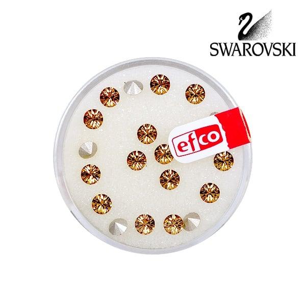 Кристали Swarovski Chatons, ф 4 mm, 20 бр. Кристали Swarovski Chatons, ф 4 mm, 20 бр., светъл сапфир