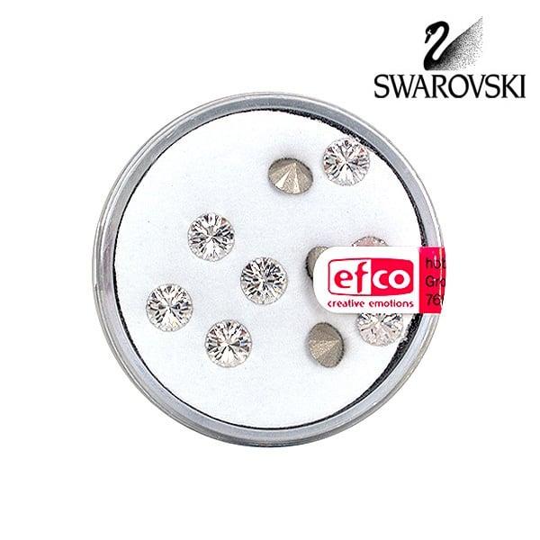 Кристали Swarovski Chatons, ф 5 mm, 10 бр. Кристали Swarovski Chatons, ф 5 mm, 10 бр., кристал