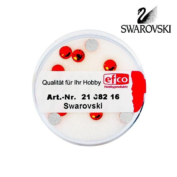 Кристали Swarovski, едностранно плоски, ф 5 mm, 10 бр. Кристали Swarovski, едностранно плоски, ф 5 mm, 10 бр., зюмбюл