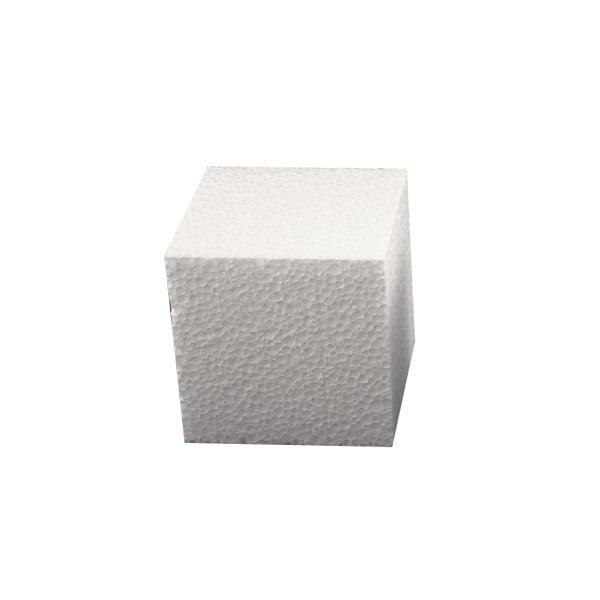 Куб от стиропор, бял, 60 x 60 x 60 mm