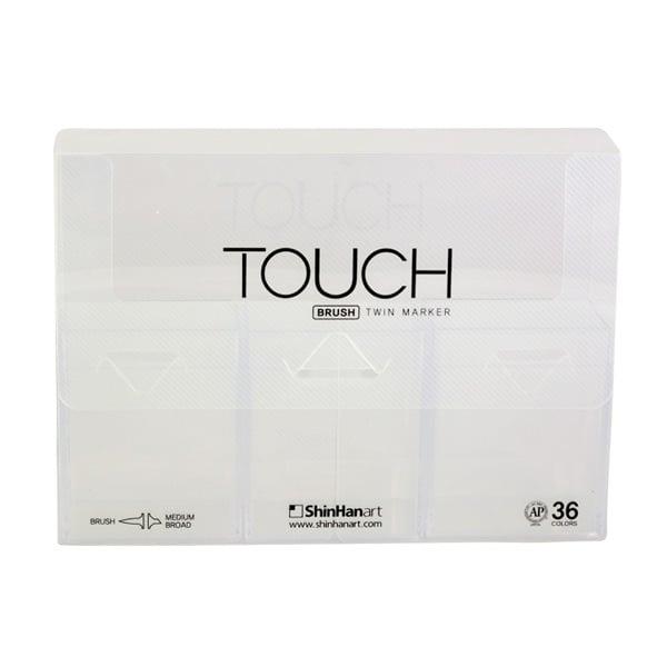 Алуминиево фолио, 20 х 30 см / 0,15 мм, 3 бр., двуцветно - червено и сребристо Кутия за маркери TOUCH TWIN, 36 маркера, празна