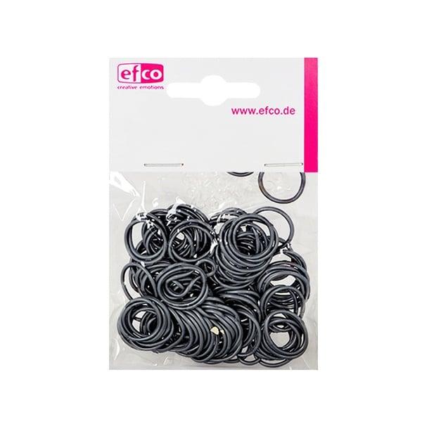 Ластички за плетене на гривни Rubber Loops, 100 бр., сребърни
