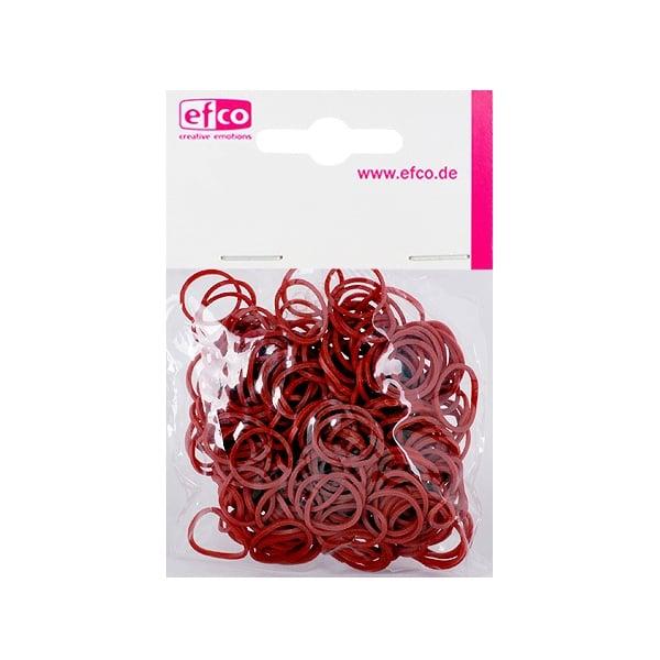 Ластички за плетене на гривни Rubber Loops, 300 бр., кафяви