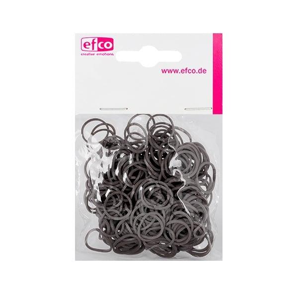 Ластички за плетене на гривни Rubber Loops, 300 бр., сиви