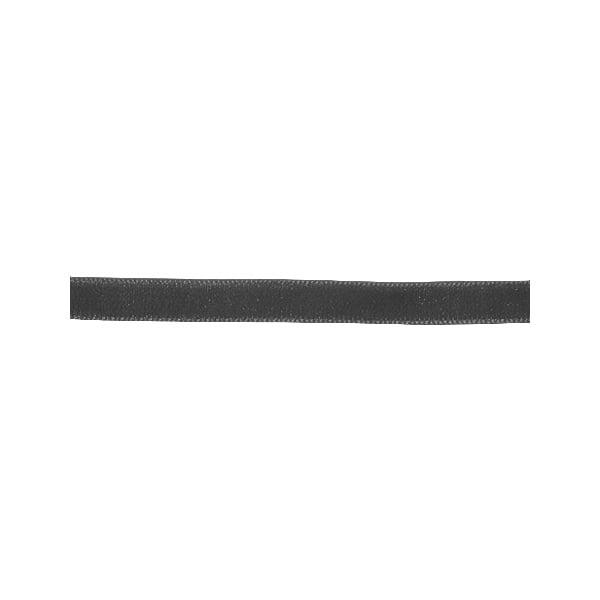Лента кадифена с кант, 6 mm, 3m Лента кадифена с кант, 6 mm, 3m, антрацит