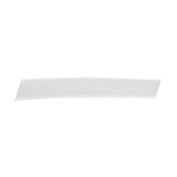 Лента кадифена с кант, 10 mm, 3m Лента кадифена с кант, 10 mm, 3m, бяла