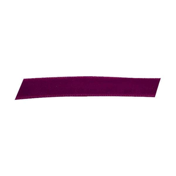 Лента кадифена с кант, 10 mm, 3m Лента кадифена с кант, 10 mm, 3m, винено червена