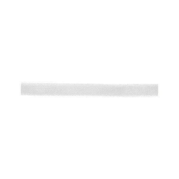 Лента кадифена с кант, 6 mm, 3m Лента кадифена с кант, 6 mm, 3m, бяла