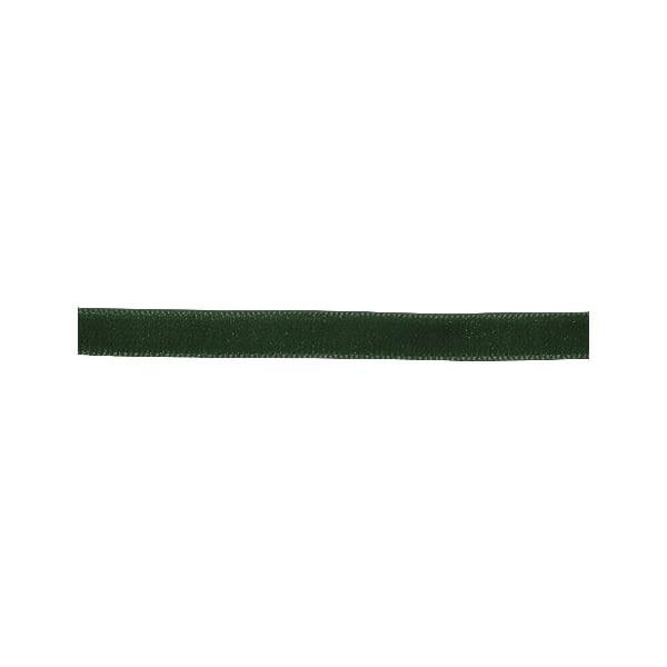 Лента кадифена с кант, 6 mm, 3m Лента кадифена с кант, 6 mm, 3m, ловджйско зелена