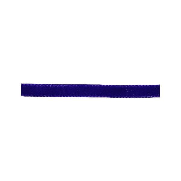 Лента кадифена с кант, 6 mm, 3m Лента кадифена с кант, 6 mm, 3m, тъмно синя