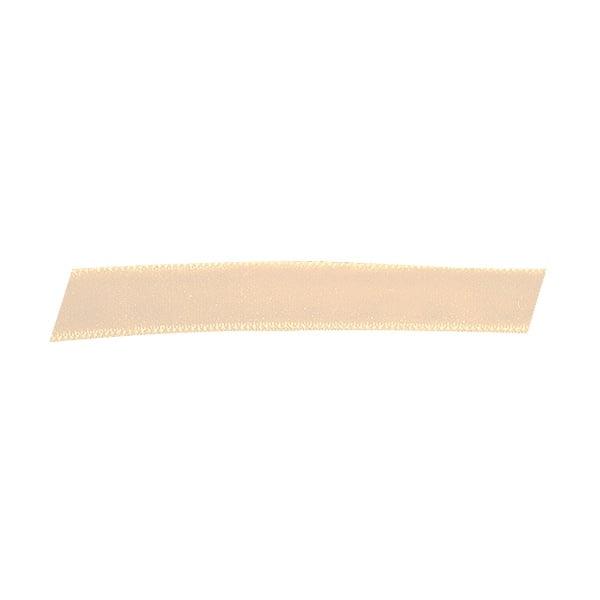 Лента кадифена с кант, 10 mm, 3m Лента кадифяна с кант, 10 mm, 3m, кремава