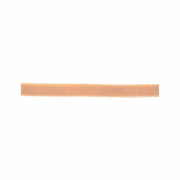 Лента кадифена с кант, 6 mm, 3m Лента кадифяна с кант, 6 mm, 3m, кремава
