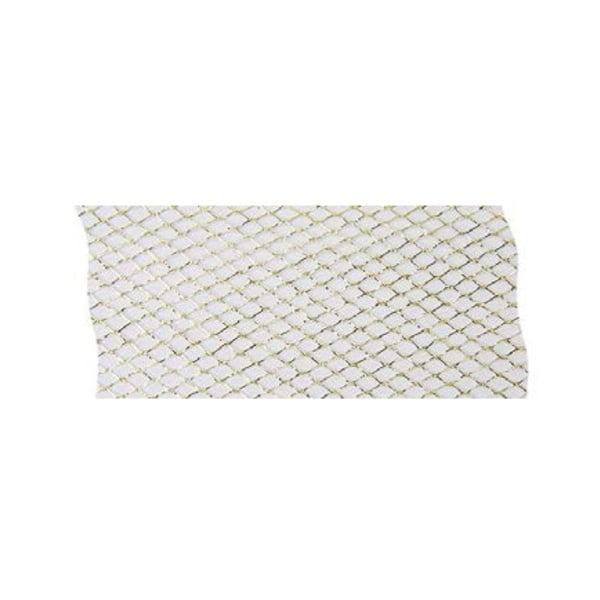 Лента мрежеста, 50 mm, 20m, златиста