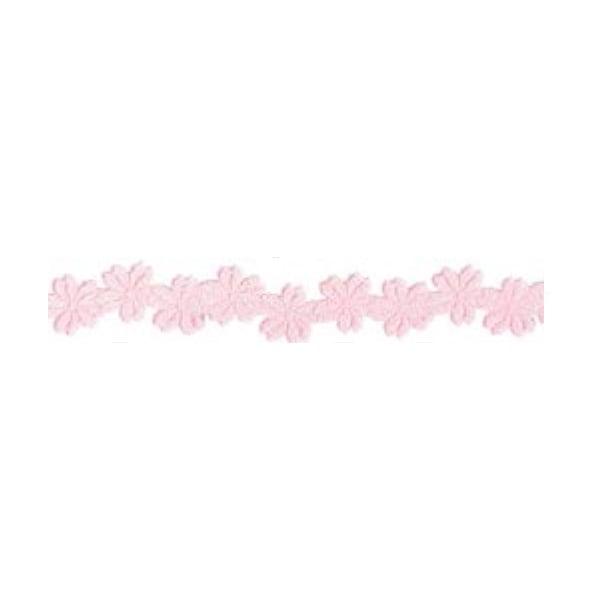 Лента с 3D мотиви, 12 mm, 2m Лента с 3D мотиви, 12 mm, 2m, цветчета, роза