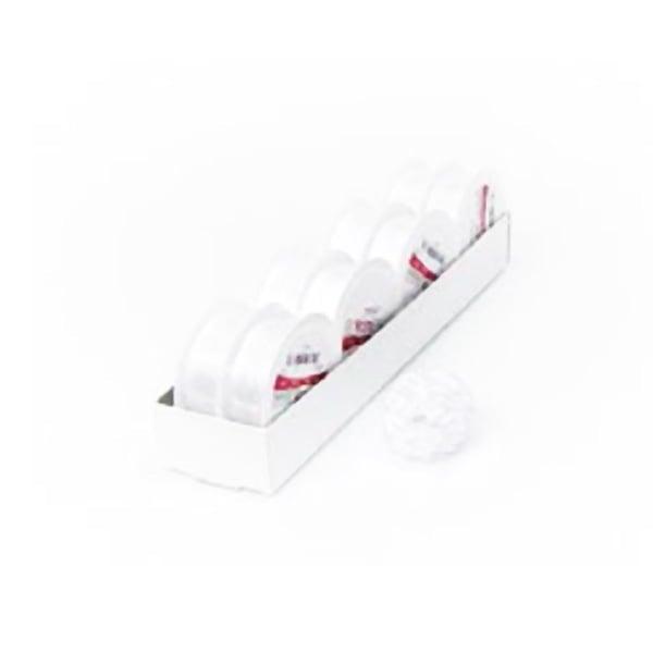 Лента с нишка за набиране, 10 mm, 3m Лента с нишка за набиране, 10 mm, 3m, бяла