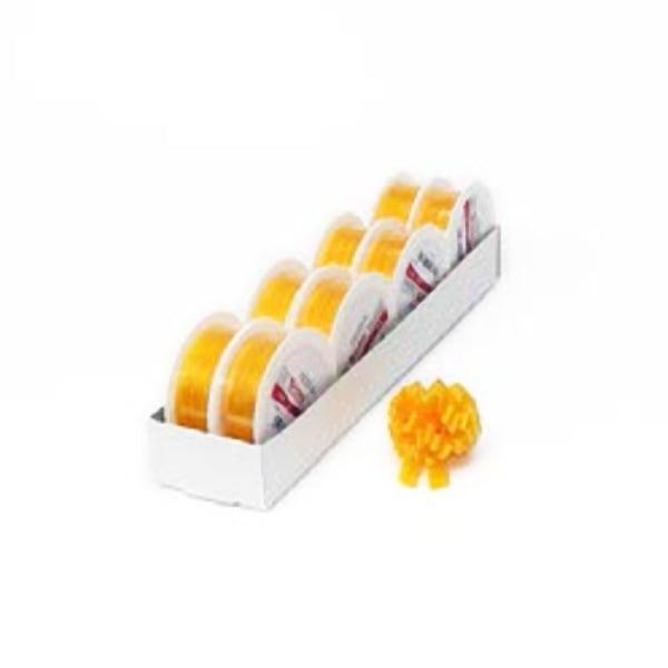 Лента с нишка за набиране, 10 mm, 3m Лента с нишка за набиране, 10 mm, 3m, лимоново жълта